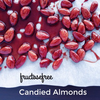 Waiting for Christmas: fructose free candied almonds // Lecker im Advent: Fructosearme gebrannte Mandeln // // Fructopia.de