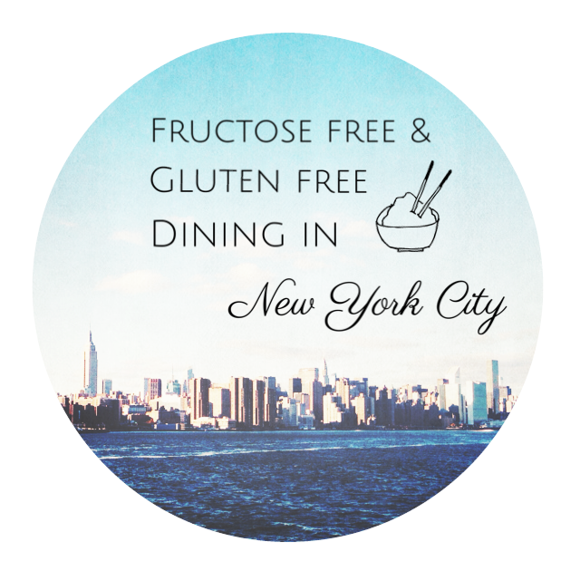 Guide to fructose and gluten free dining in New York
