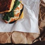 Oriental Cornbread Sandwich #glutenfree #fructosefree // Orientalisches Maisbrot-Sandwich #glutenfrei #fructosefrei// Fructopia.de