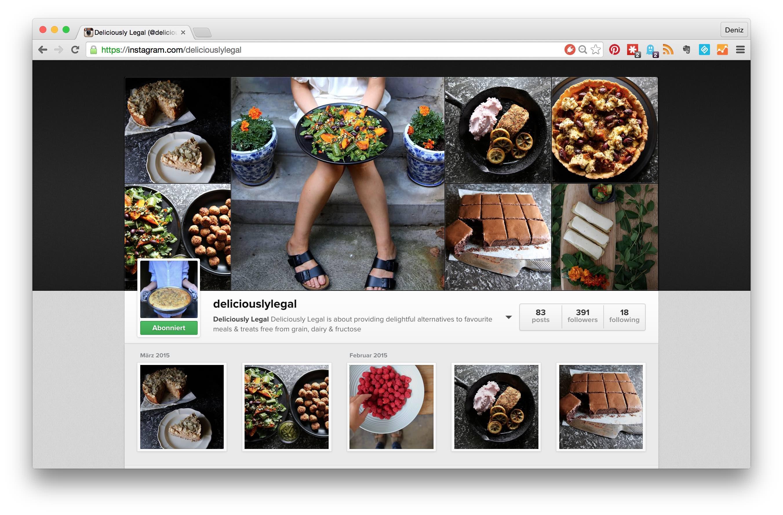 The top 5 sugar free instagram feeds you should follow // Die Top 5 zuckerfreien Instagram-Feeds, denen Du folgen solltest! // by fructopia.de