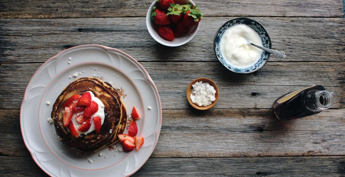 My Morning: Friendly Little Kitchen and her classic Spelt Pancakes