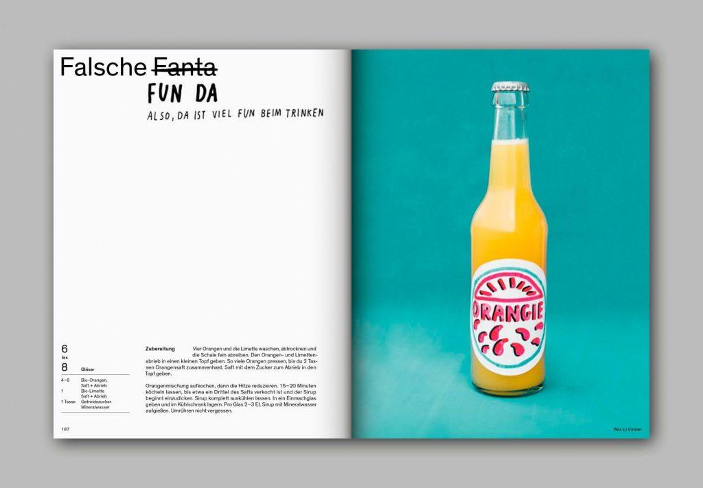 Und was isst du dann?   Rezept für Fanta ohne Zucker   fructopia.de