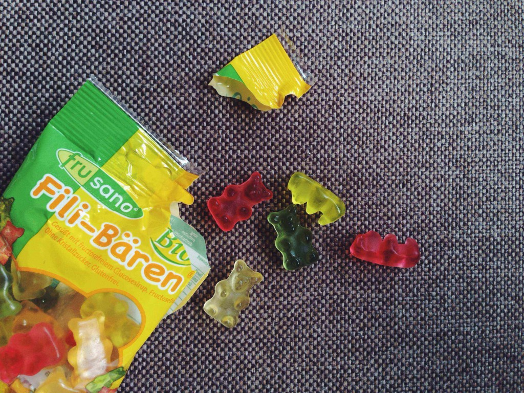 Fructose free sweets: Frusano gummy bears, a product review // Fructosefreie Süßigkeiten: Frusano Gummibärchen, ein Produkttest // Fructopia.d