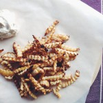 Fructose free recipes: spicy celery root fries // Fructosearme Rezepte: Würzige Sellerie-Pommes // Fructopia.de
