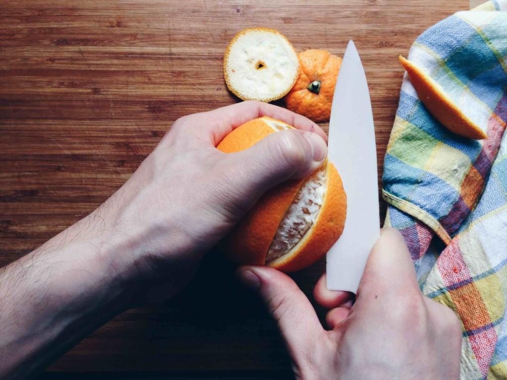 Orangen-Upcycling: Verwandlet Orangenschalen in einen fructosefreien Snack // Fructopia.de