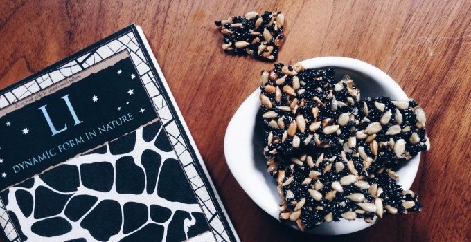 Black-Sunflower-Brittle (fructosefree, vegan, gluten free)