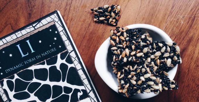 Schwarzes-Sonnenblumen-Krokant (fructosearm, vegan, gluten-frei)