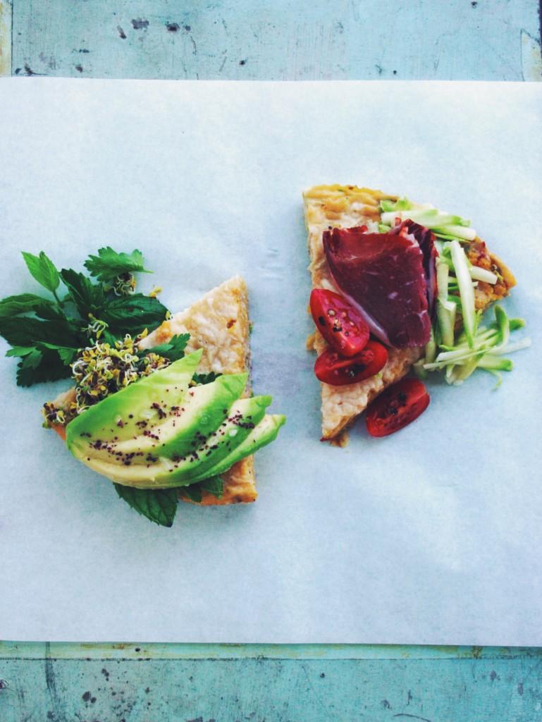 So einfach kann Dein gesundes Mittagessen sein: Polenta-Frittata - gluten-frei, fructosearm, FODMAP-arm // fructopia.de