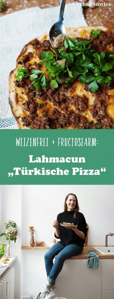 Türkische Pizza: Knusprige Lahmacun aus Dinkel – Fructosearm ohne Zwiebeln | Mit Fotos und Rezeptvideo von Kitchen Stories