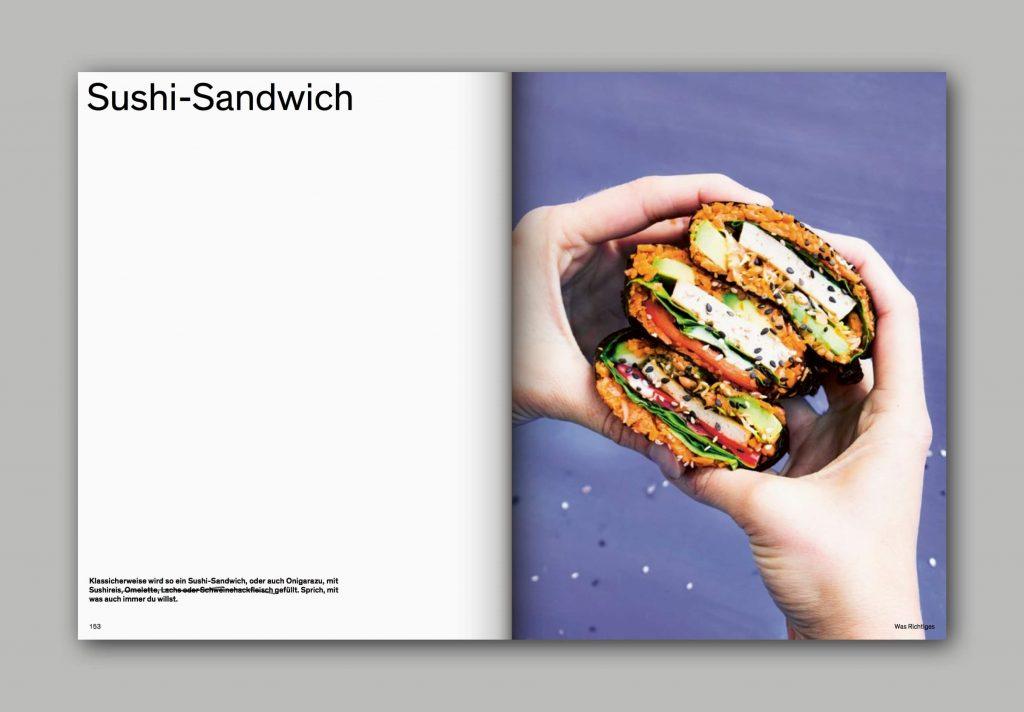 Und was isst du dann? Kochbuch: Sushi-Sandwich – Low-Carb, glutenfrei, vegan, fructosearm | fructopia.de