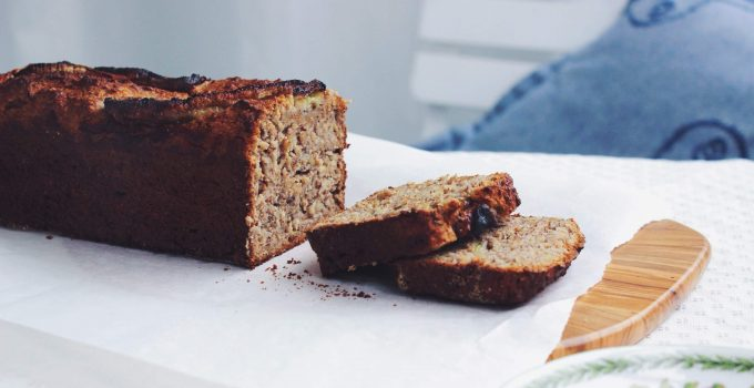 Spelt Banana Bread with Nuts | sugar-free, vegan, wheat-free