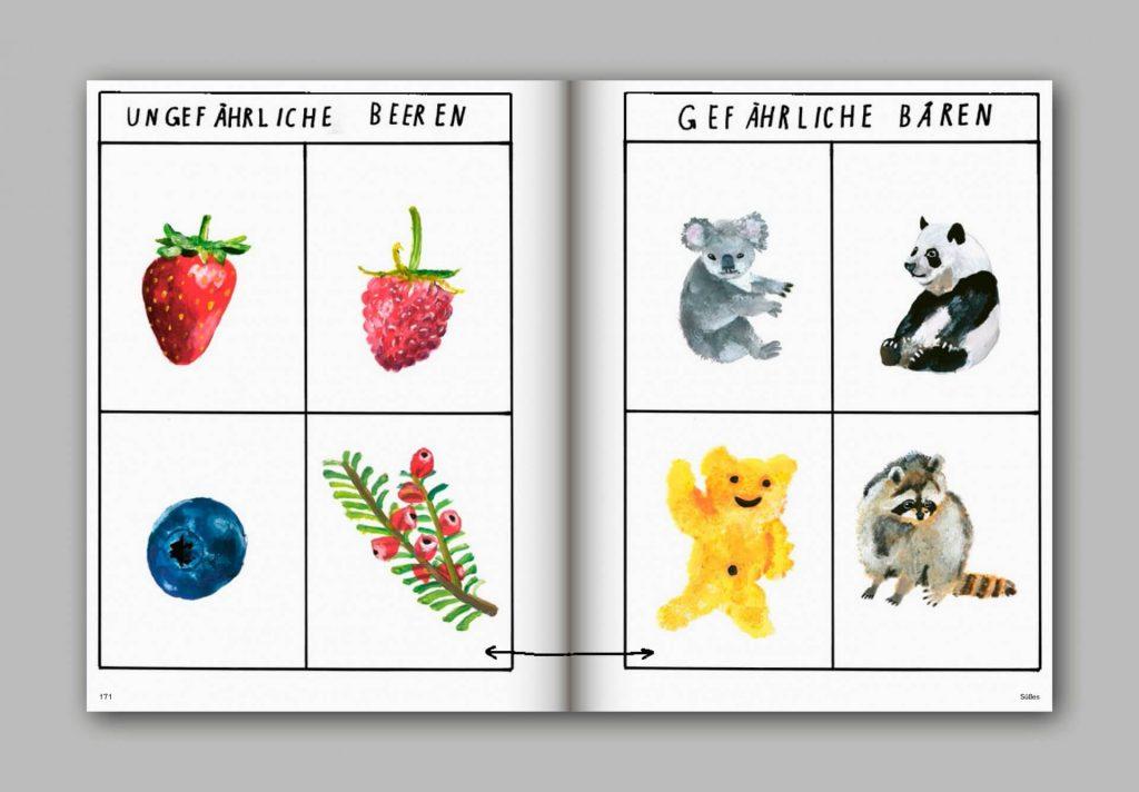 Und was isst du dann? Ein Kochbuch über Leckerstes | Illustrationen und Konzept Felix Bork | fructopia.de