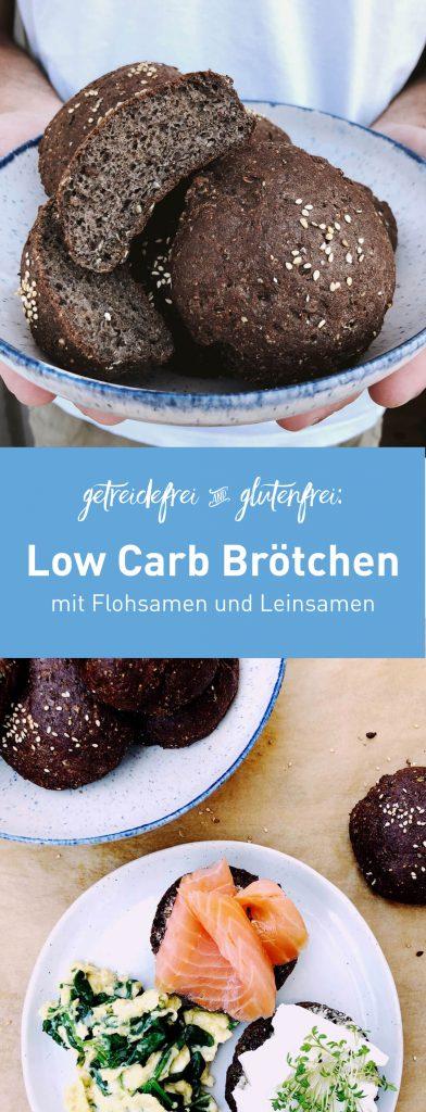 Low Carb Brötchen selber backen | fructosearm, getreidefrei, glutenfrei | fructopia.de