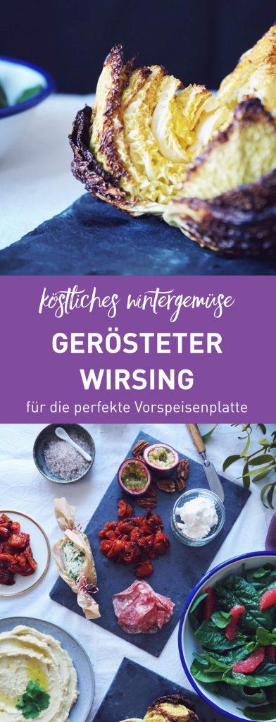 Lokales Wintergemüse: Gerösteter Wirsing mit Senf-Vinaigrette für die weihnachtliche Vorspeisenplatte | Fructopia.de